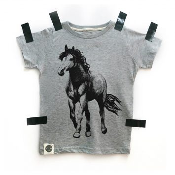 טי  סוס | אפור מלאנז'