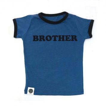 טי  רטרו  BROTHER | כחול