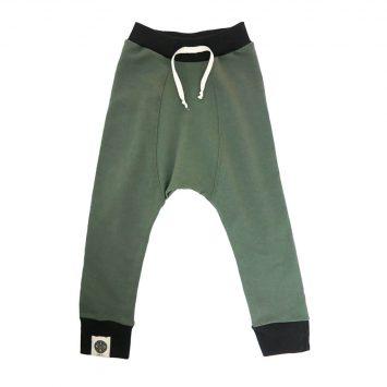 מכנסי באגי | ירוק צבא