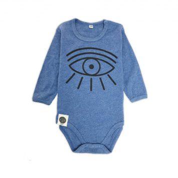 בגד גוף עין | כחול