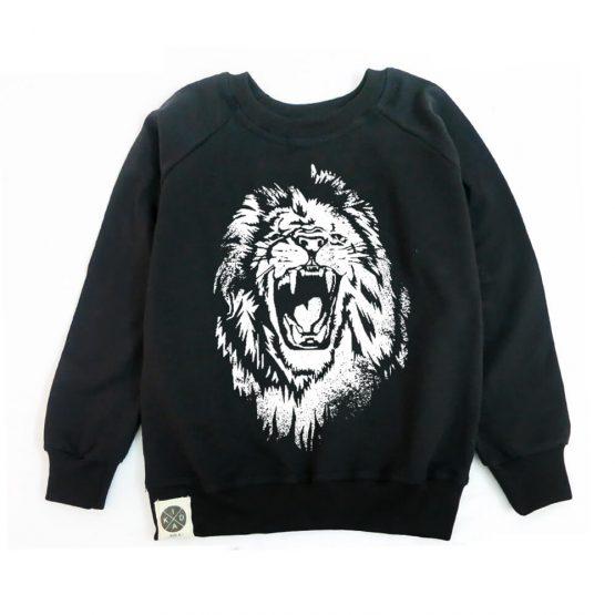סווטשירט אריה | שחור