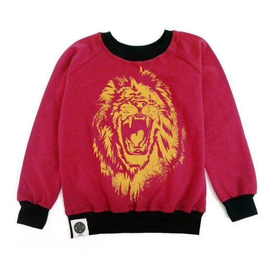 סווטשירט אריה | אדום