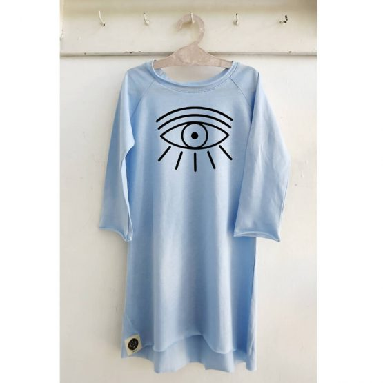 שמלת טי שירט עין