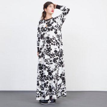 שמלת פרחים סילואטות