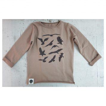 סווטשירט RAW ציפורים