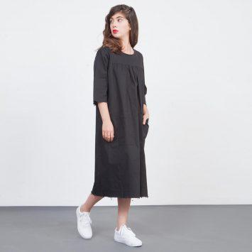 שמלת עבודה שחורה