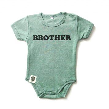בגד גוף BROTHER ירוק