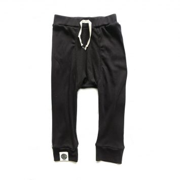 מכנסי באגי לקיץ | שחור