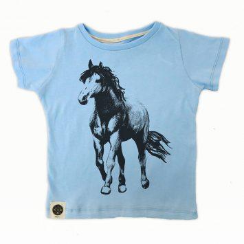 טי  סוס | תכלת