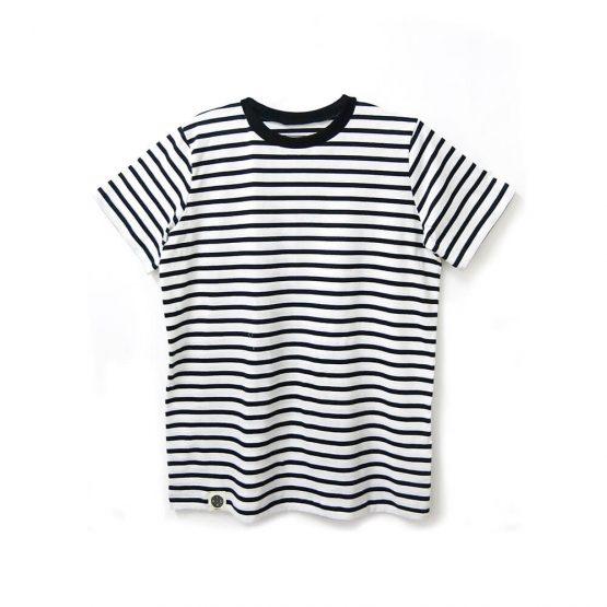 חולצת פסים כמו שצריך לבן   שרוול קצר