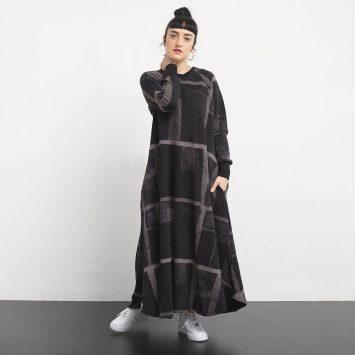 שמלת סווטשירט אורבן🖤