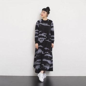 שמלת סווטשירט וואש🖤
