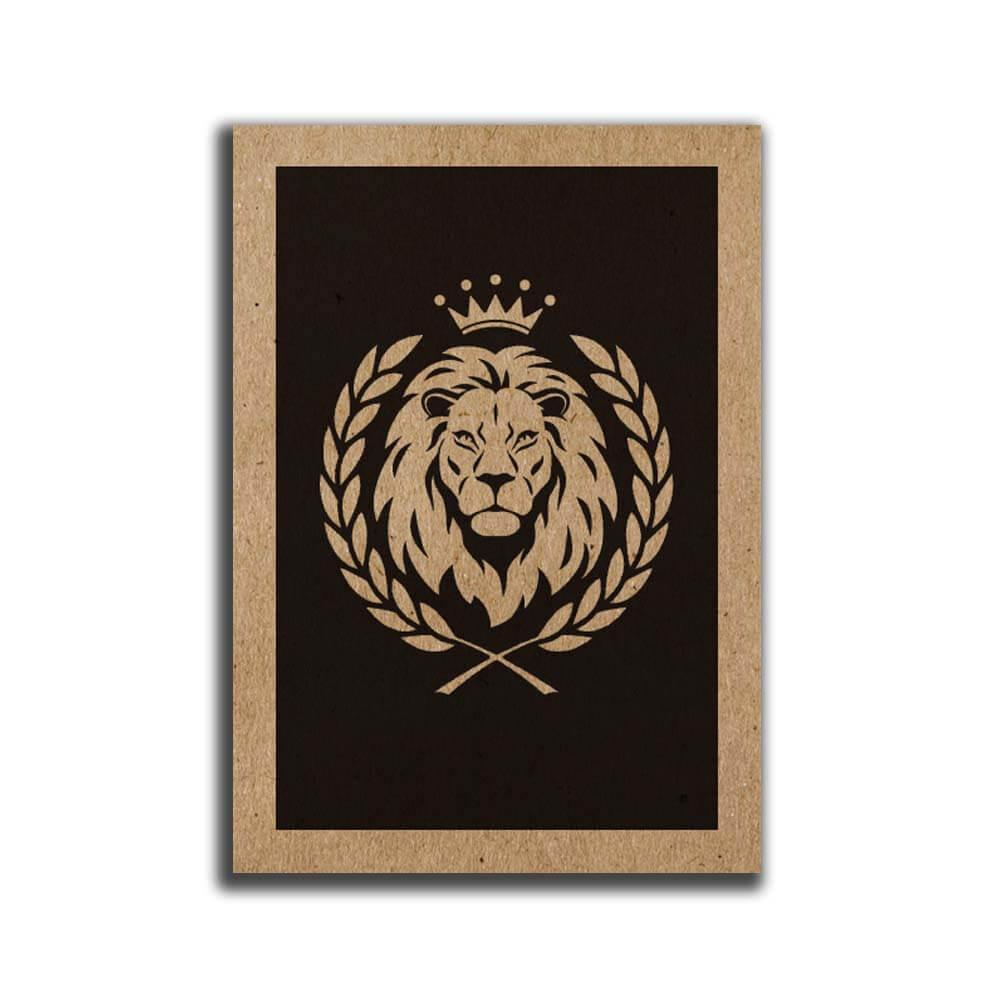 מיני פוסטר A5 אריה