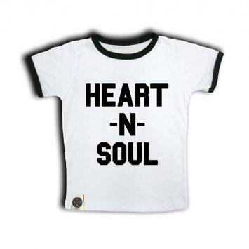 טי רטרו HEART&SOUL