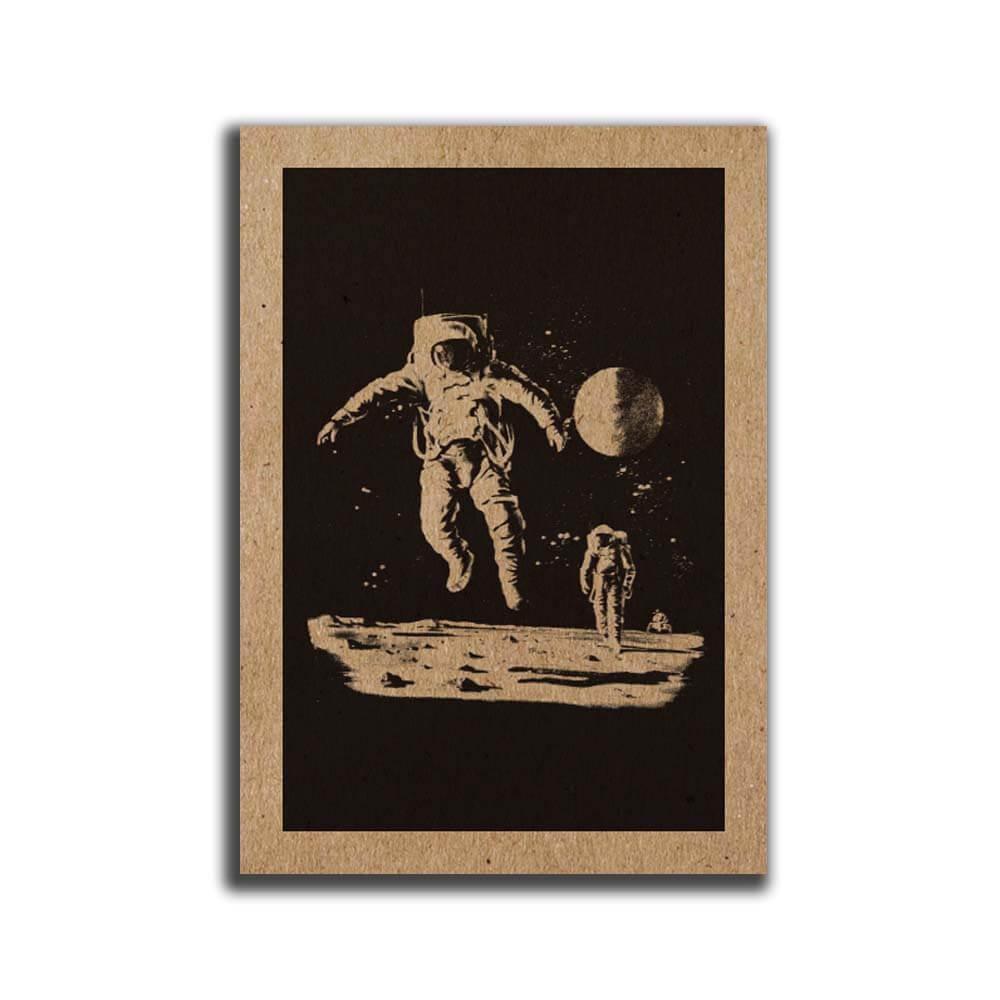 מיני פוסטר A5 איש חלל