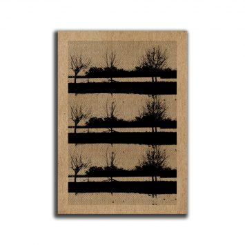 מיני פוסטר A5 עצים