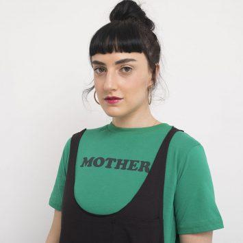 טי נשים MOTHER | ירוק