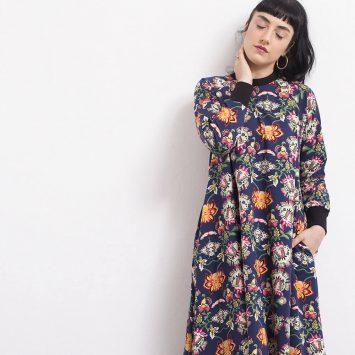 שמלת מקסי בוהו