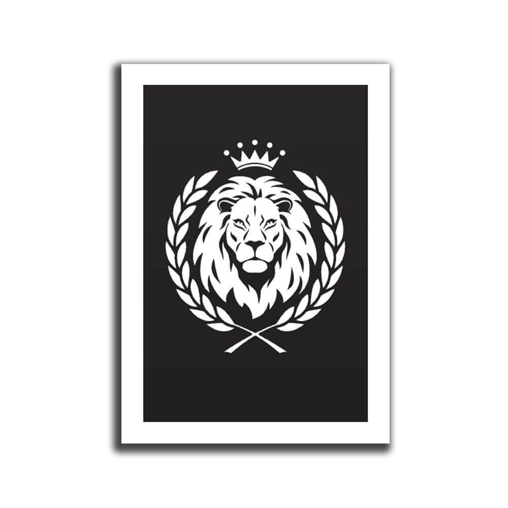 פוסטר A4 אריה