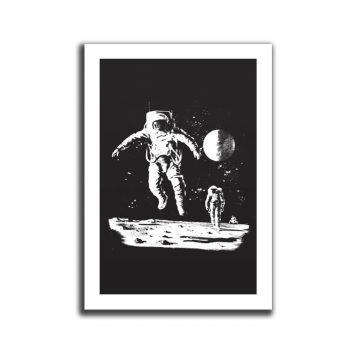 פוסטר A4 איש חלל