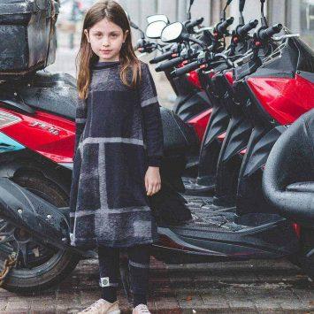 שמלת סווטשירט אורבן ילדות