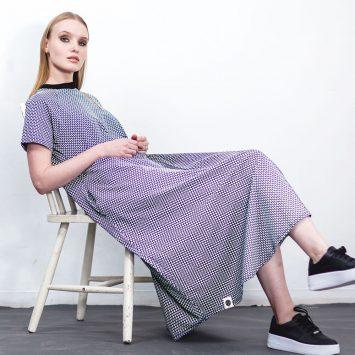 שמלת מקסי אוריינטלית