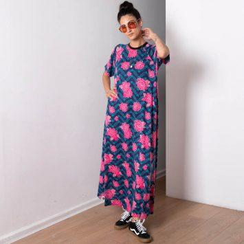 שמלת מקסי פרידה קאלו