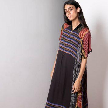 שמלת בומבר ניט מקסיקו