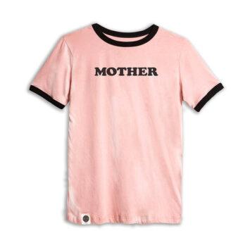 טי רטרו נשים MOTHER | ורוד