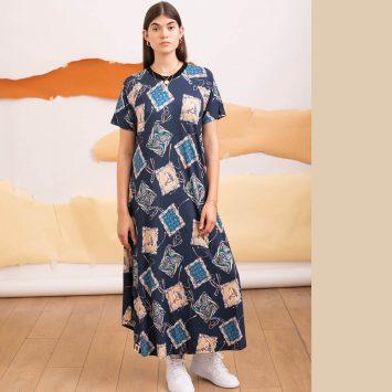 שמלת מקסי קאנטרי