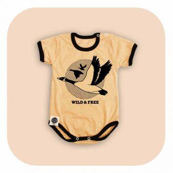 בגד גוף קאמל אווזי בר
