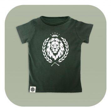 טי אריה ירוק צבא