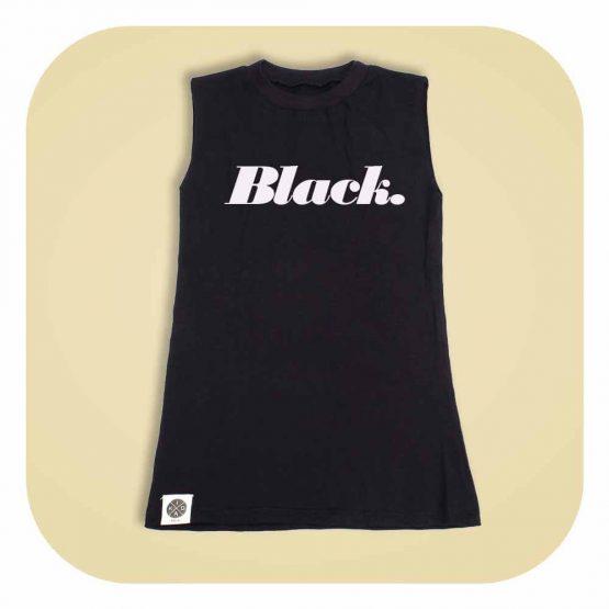 שמלת סליבלס BLACK