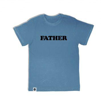טי גברים FATHER תכלת