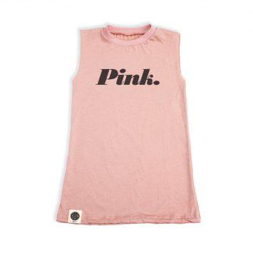 שמלת סליבלס PINK