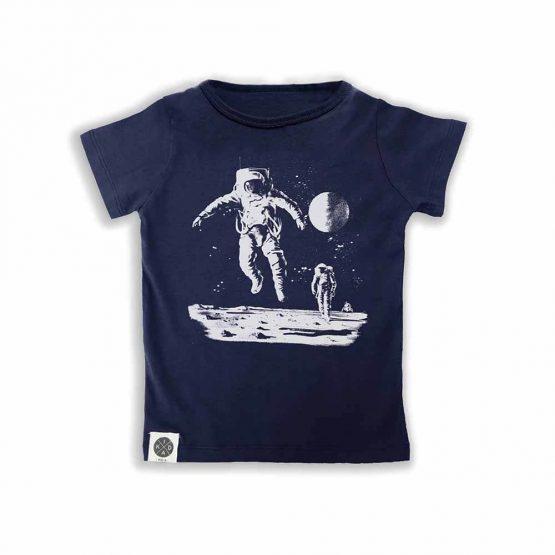 טי איש חלל כחול נייבי