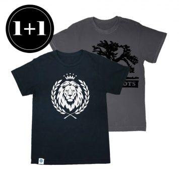 1+1 טי אריה + טי ROOTS
