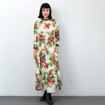 שמלת מקסי הוואי