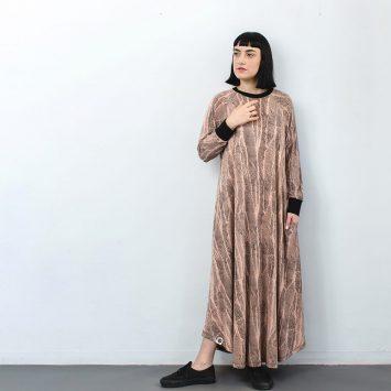 שמלת מקסי טופוגרפיה