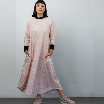 שמלת טי שירט WILD PINK
