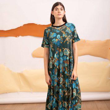 שמלת מקסי פולקלור