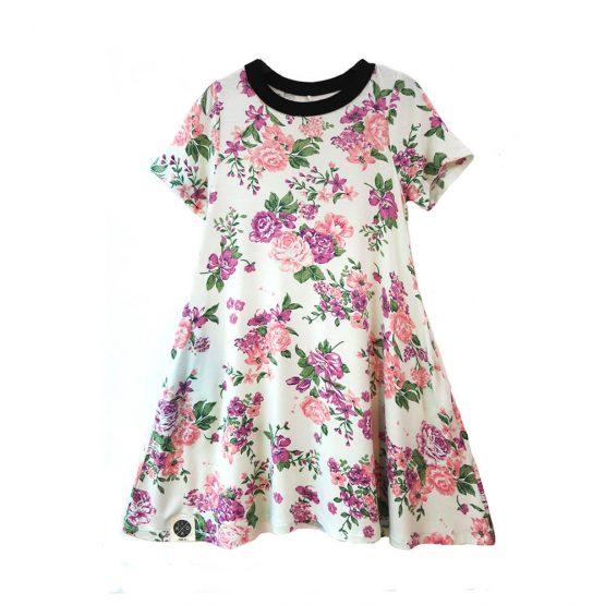 שמלת A פרחונית