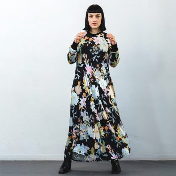 שמלת מקסי אקזוטית