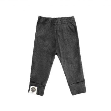 מכנסי בייסיק בייבי | אפור כהה