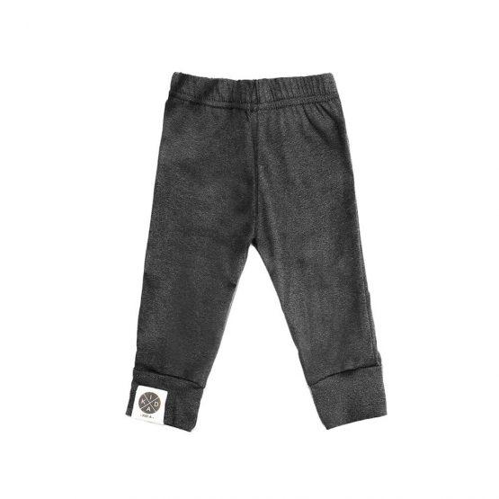 מכנסי בייסיק בייבי   אפור כהה