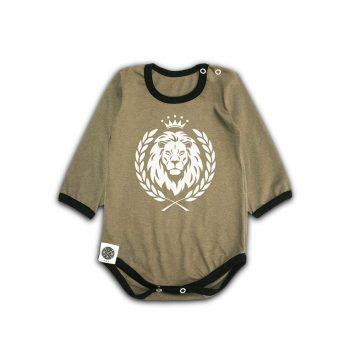 בגד גוף אריה חאקי