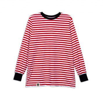 חולצת פסים כמו שצריך | אדום