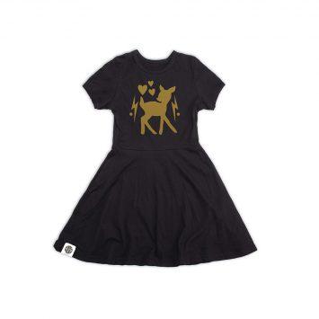 שמלת נסיכה במבי שחור