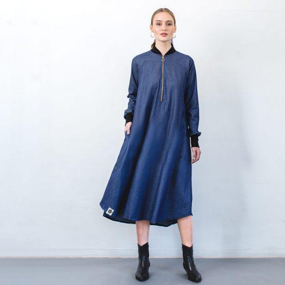 שמלת בומבר | ג'ינס