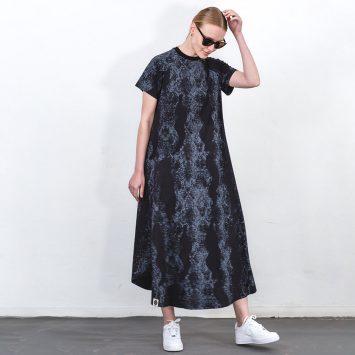 שמלת מקסי טקסטורה